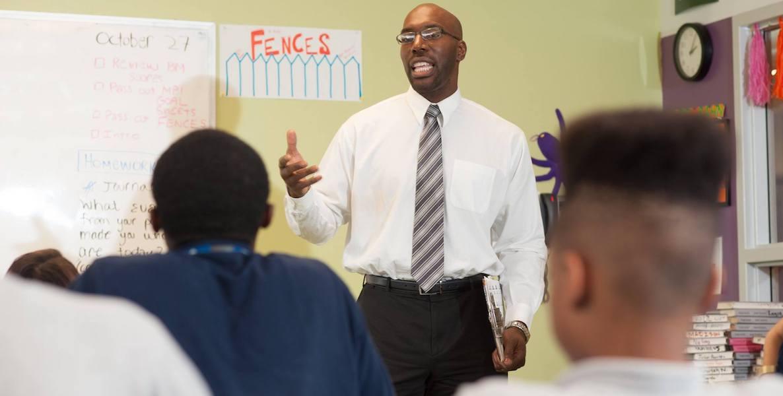 black male teachers, same-race teachers, black students, mastery charter