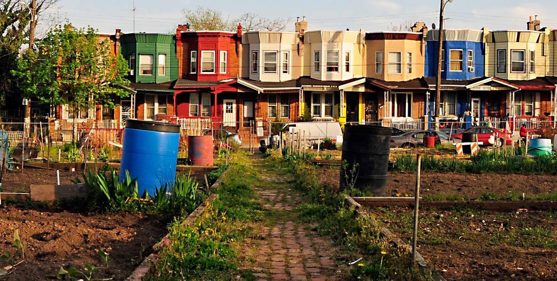 Philadelphia neighborhoods; Healthy Rowhouse Project header