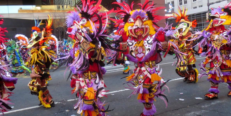mummers parade philadelphia