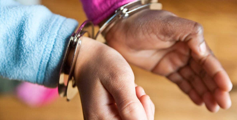 student discipline zero tolerance header handcuffs kevin bethel