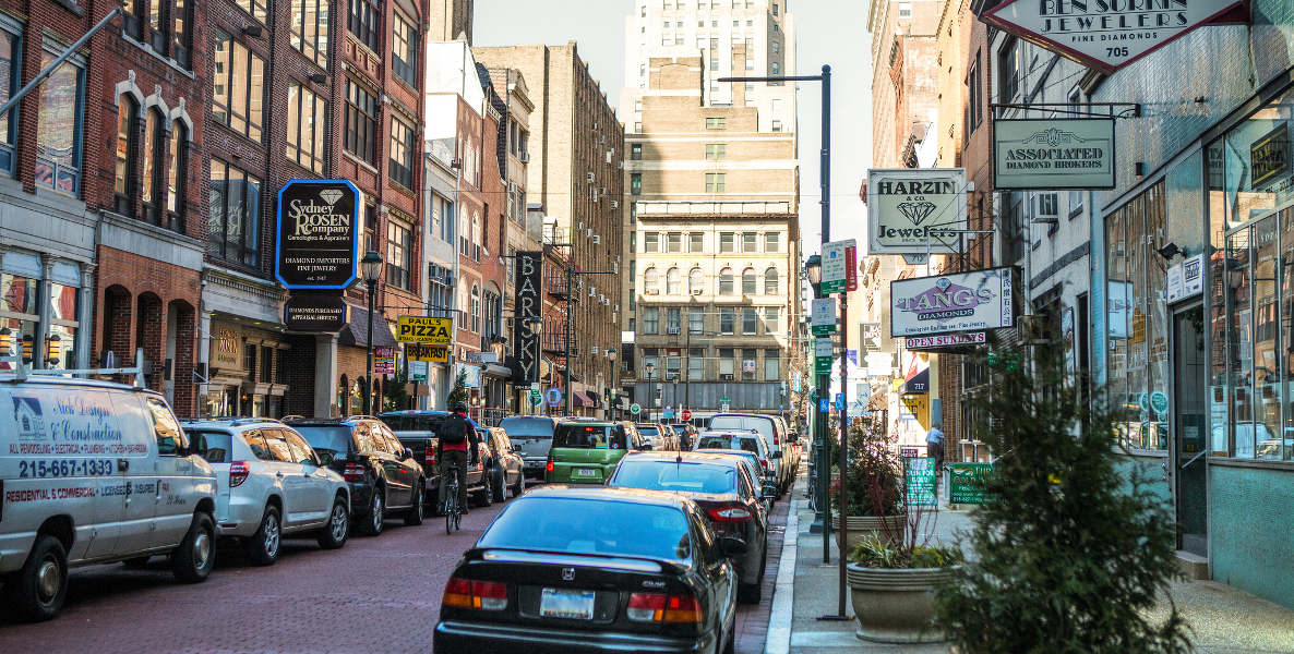 Jewelers Row in Philadelphia