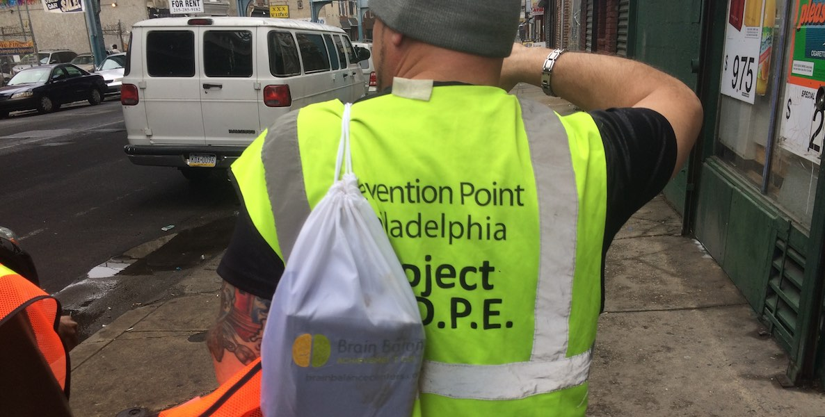 prevention point, narcan, heroin overdose, kensington