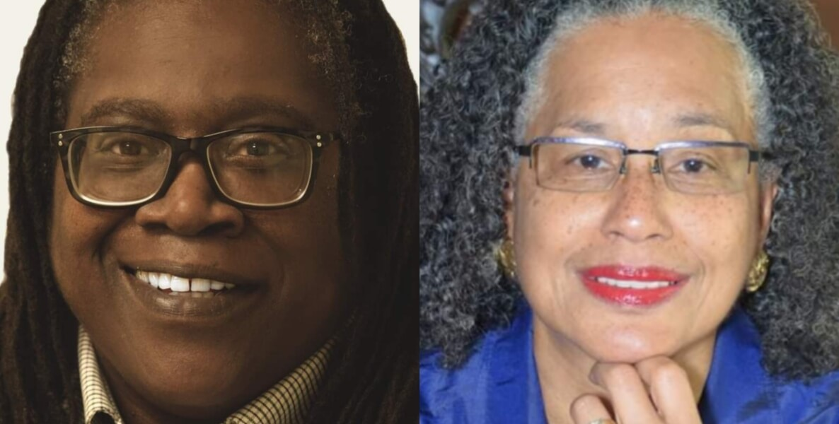 Dr. Allener M. Baker-Rogers and Fasaha M. Traylor, authors of They Carried Us: The Social Impact of Philadelphia's Black Women Leaders