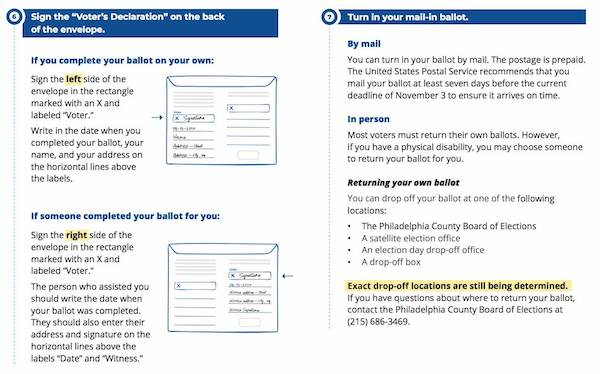 How to vote by mail in Philadelphia in 2020