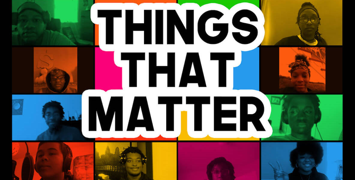 The album art from Hill-Freedman World Academy's fourth album, Things That Matter
