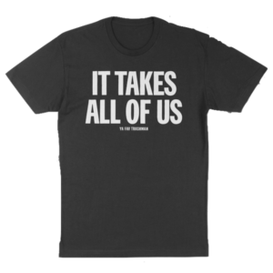 T-shirt sold by Ya Fav Trashman to help raise money for PPE for sanitation workers