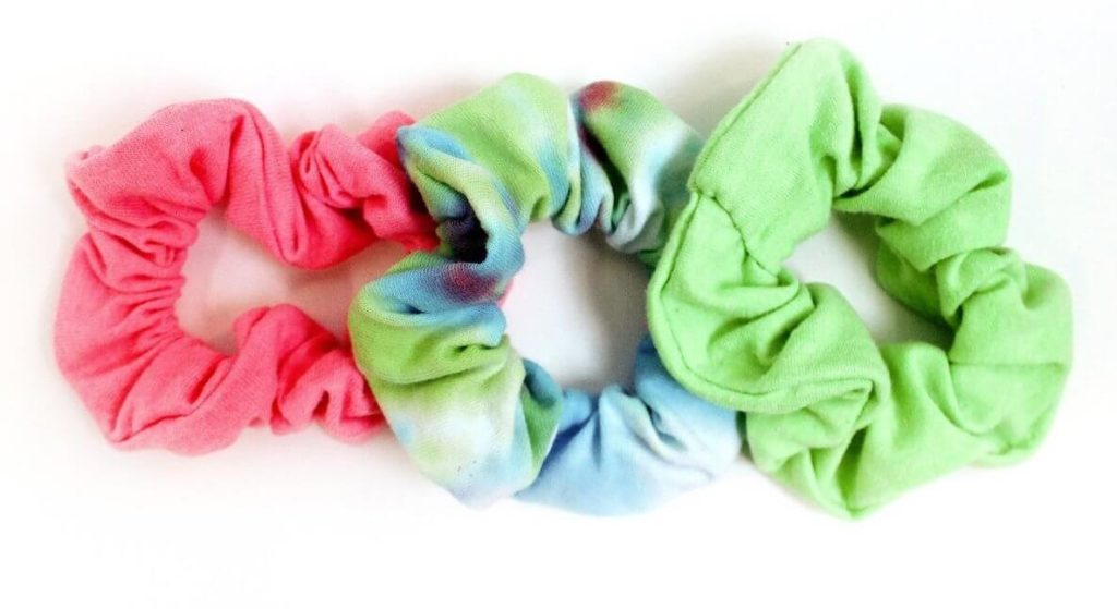 A trio of scrunchies from Grant BLVD