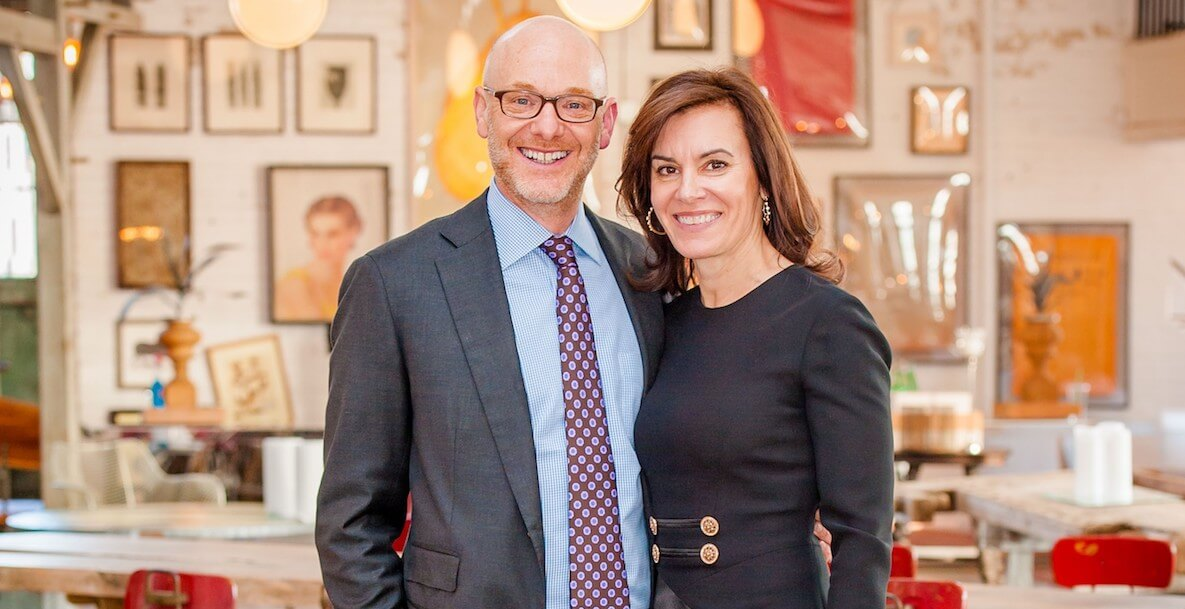 Philanthropists and art collectors Michael Forman and Jennifer Rice