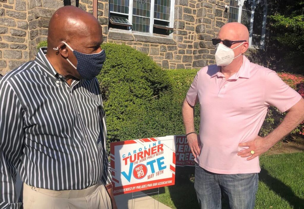 Hassan Abdellah speaks with The Citizen's Larry Platt after winning $1,000 in the voter lottery