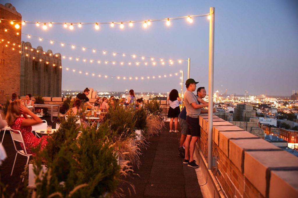 This photo of Irwin's accompanies an article about the best and most beautiful places to eat outdoors in Philadelphia