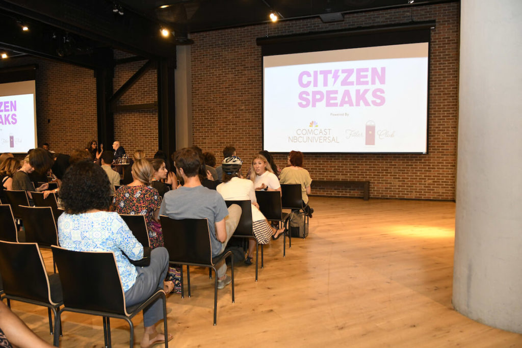 A Citizen Speaks event at Fitler Club